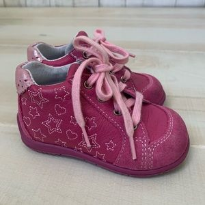 Ciciban Pink shoes with stars - EU 19